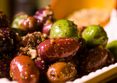 Spiced Olives