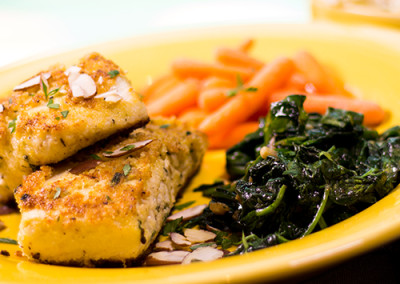 Almond Crusted White Fish