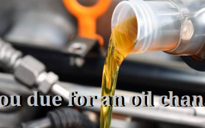 Are you due for an Oil Change?